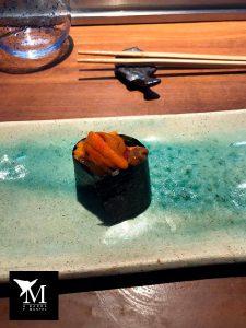 exquisito gunkan, un nigiri muy especial