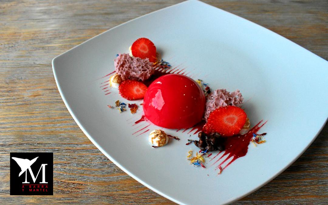 Frutos Rojos con texturas nuestra aportación a la campaña de frutos rojos impulsada por HBN y Fruta de Andalucía